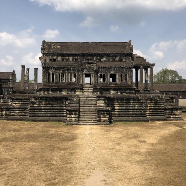 Angkor Wat, Arka Bölüm