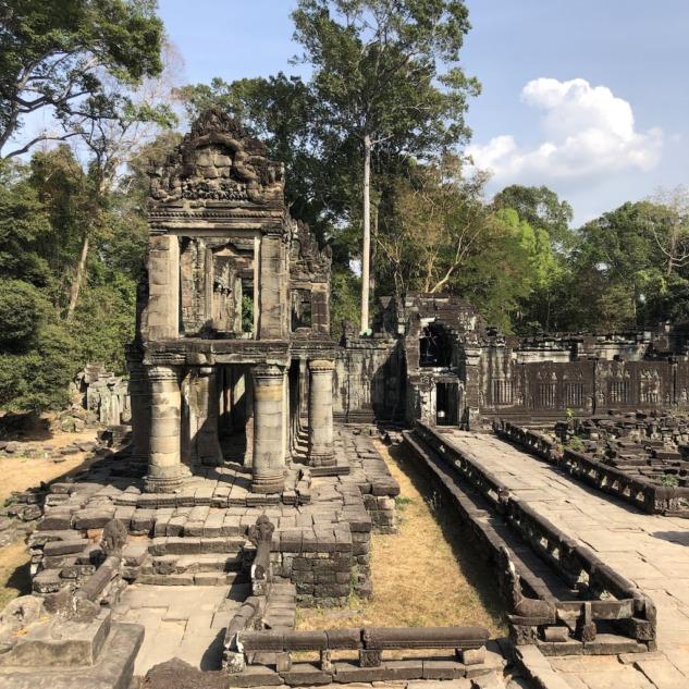 Gezdiğimiz diğer tapınaklardan