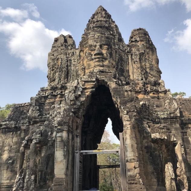 Bayon Temple Girişi