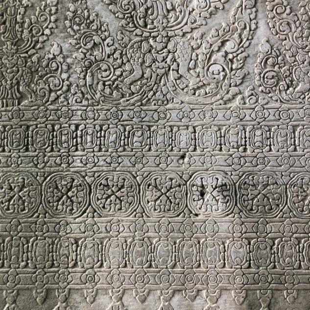 Angkor Wat, Duvardaki İşlemeler