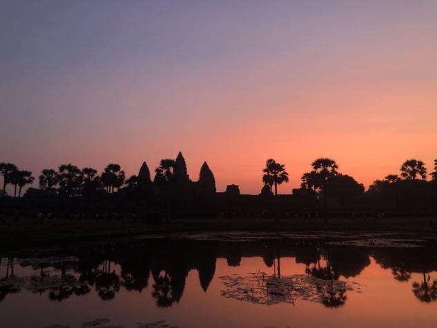 Angkor Wat, Gün doğumu