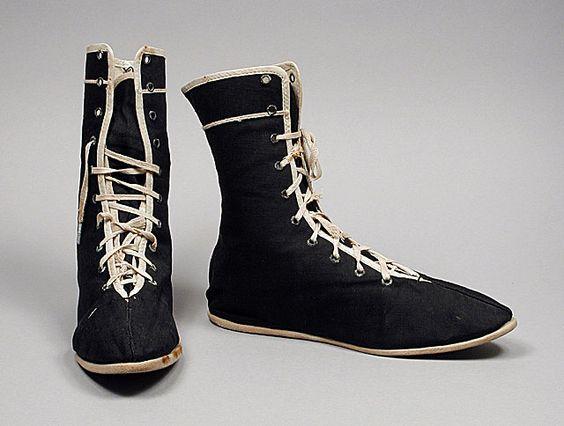 Viktoryen Dönem Yüzme Ayakkabıları
