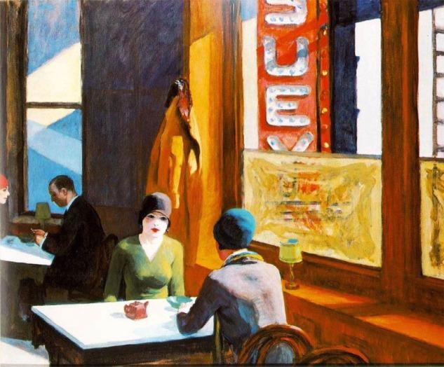 Chop Suey, Edward Hopper