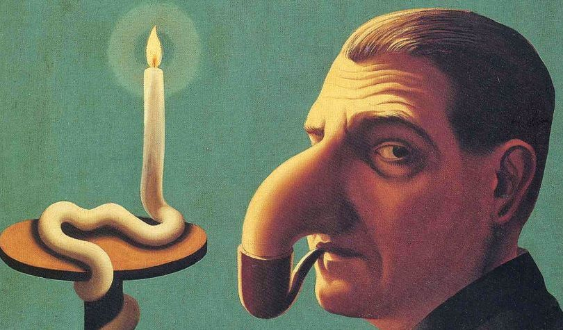 Philosopher's Lamp, René Magritte