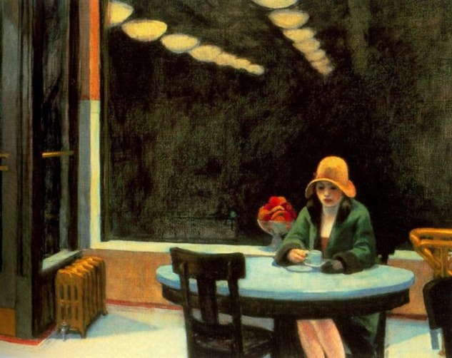 Automat, Edward Hopper
