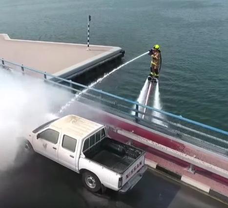 İtfaiyenin Geleceği: Yangınlara Müdahalede JetPack'ler Kullanılabilir