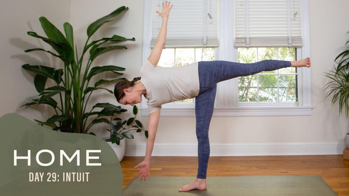 Yoga with Adriene, Home
