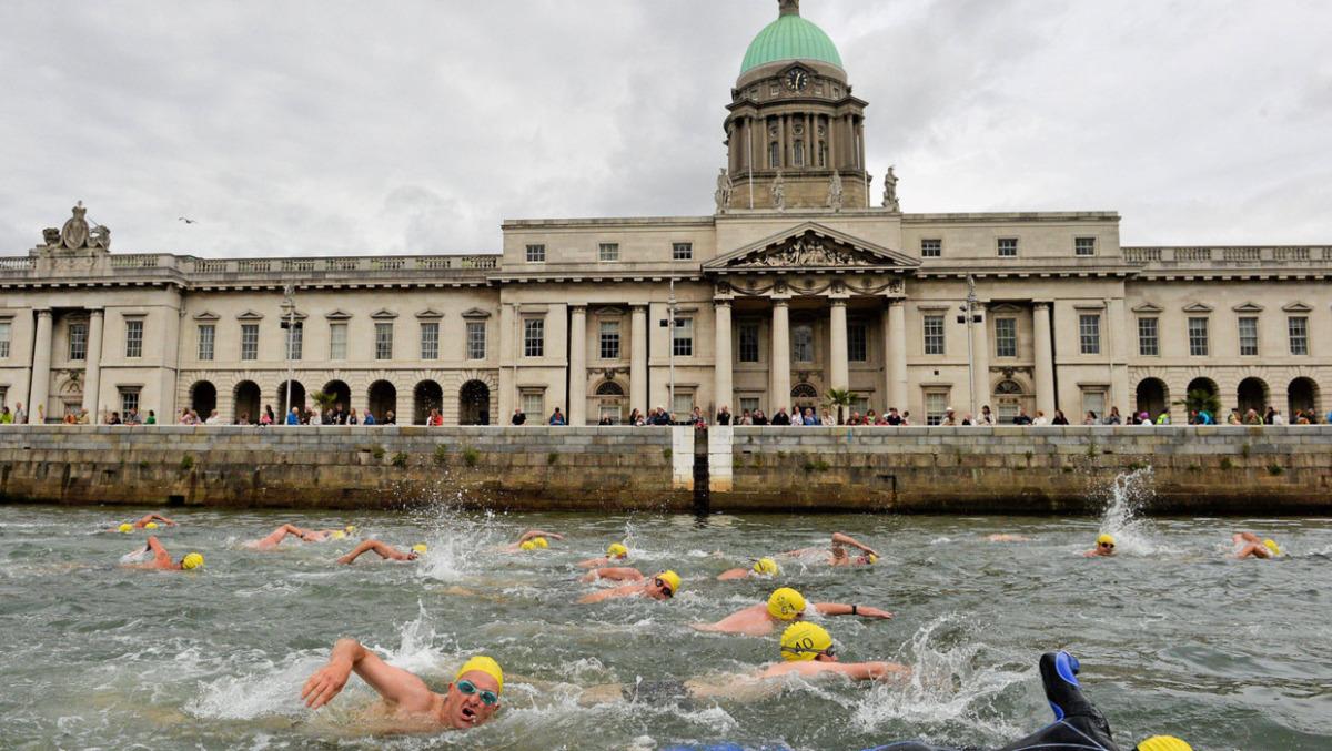 irlanda festivalleri - liffey swim