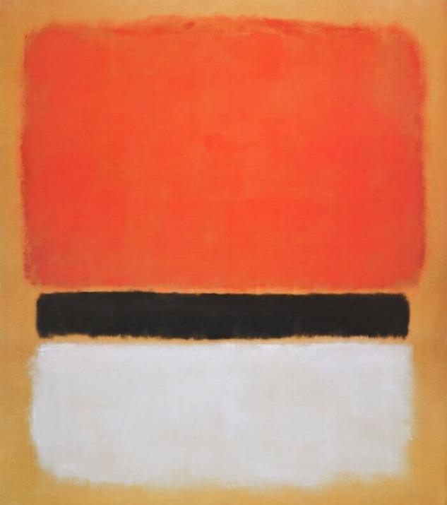 Rothko'nun ağır depresyon geçirmeden önce yaptığı eseri