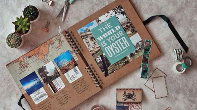 Scrapbook: Anılarınızı Kendi Tarzınızda Saklayın