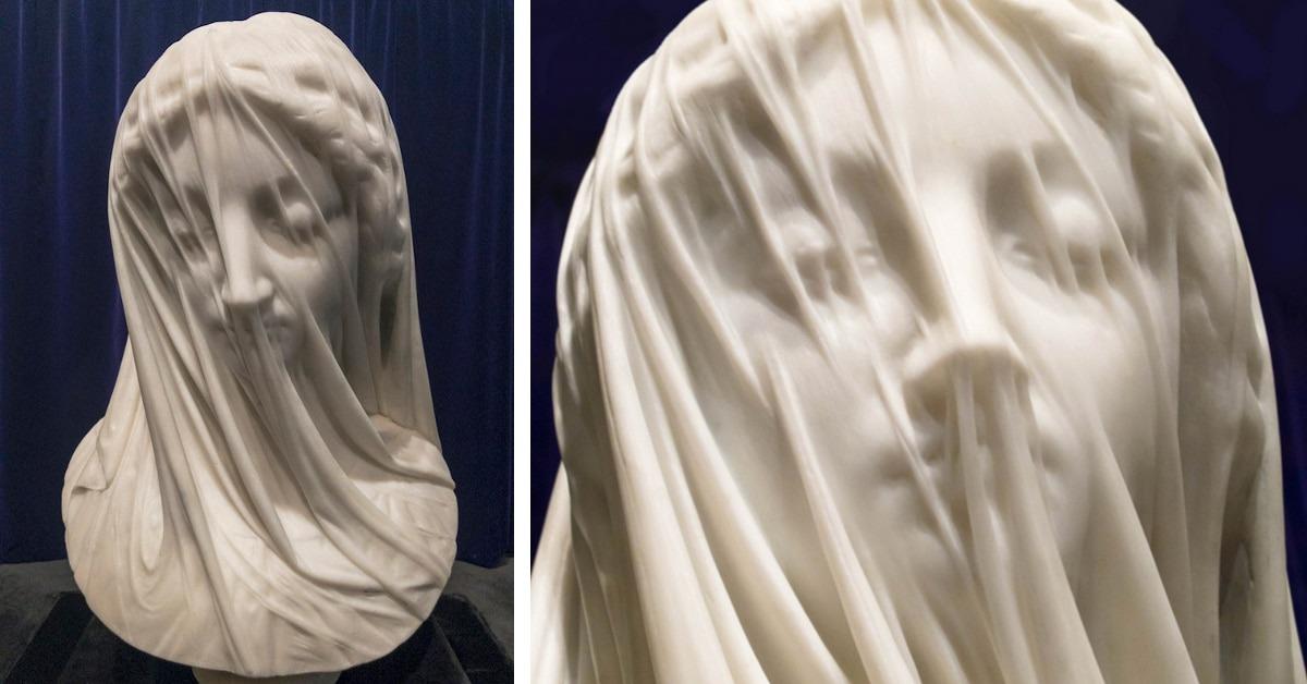 The Veiled Virgin, Giovanni Strazza
