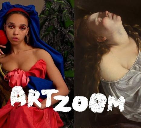 Google's Art Zoom: FKA Twigs ve Grimes'dan Sanat Dersleri