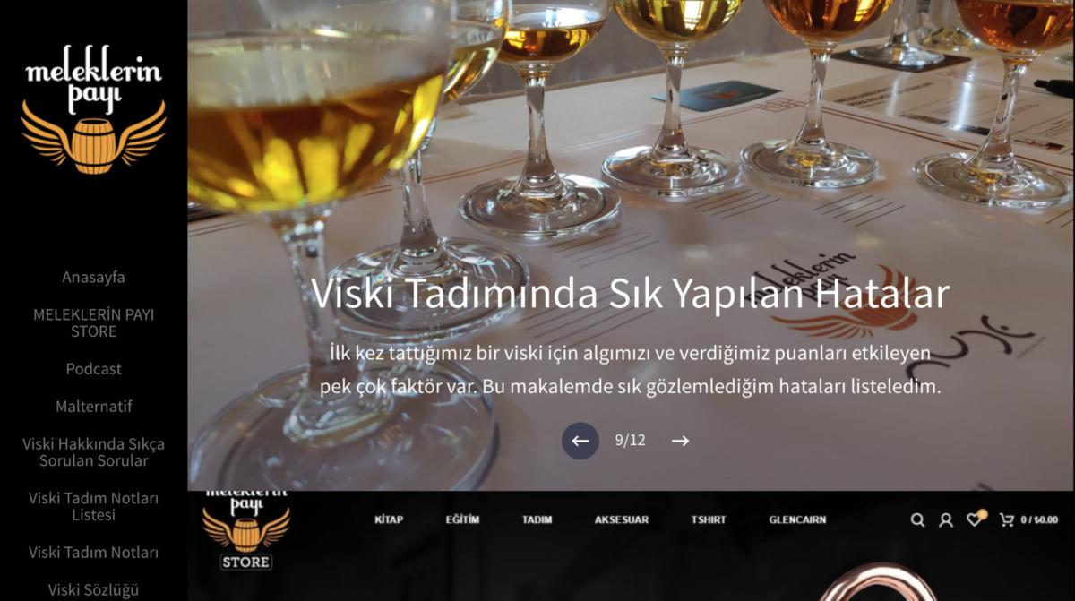 viski blogları - meleklerin payı