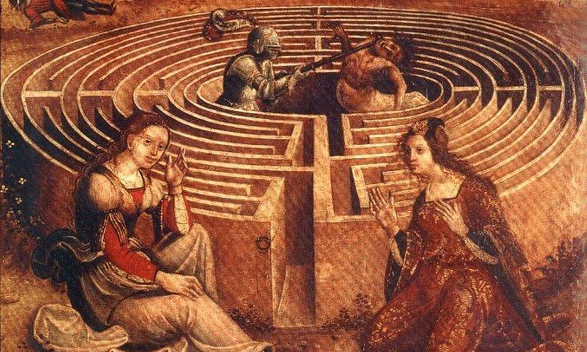 Labirent - Theseus ve Minator