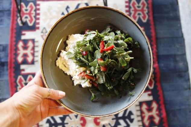 Gastro Tire Semizotu Salatası