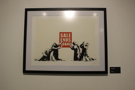 Banksy Eserleri: Sale Ends,