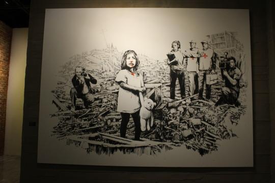 Banksy Eserleri: Media at War