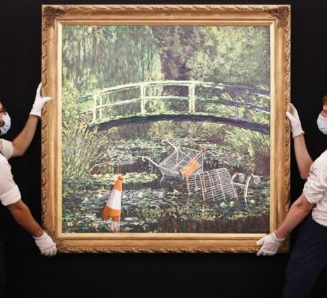Show Me The Monet: Banks'nin Monet Yorumu 7.5 Milyon Pound'a Satıldı