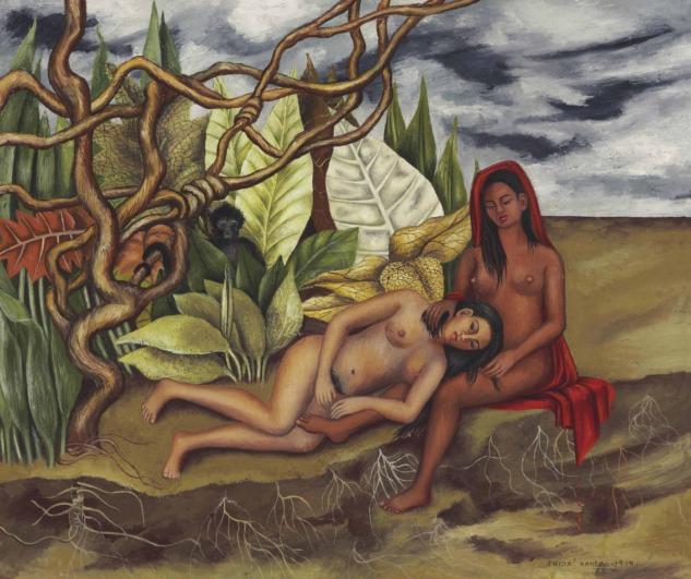 Dos Desnudos en El Bosque