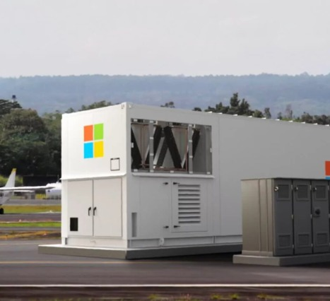 Taşınabilir Veri Merkezi: Microsoft'un Yeni Çalışması