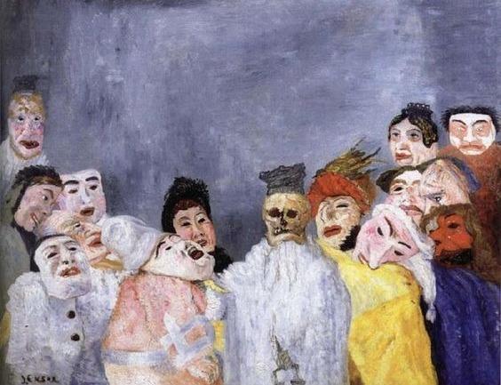 James Ensor: Maskelerin Ressamının Çalışmaları ve Yaşamı