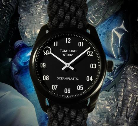 Tom Ford: Okyanus Atıkları Kullanılarak Tasarlanan Saatini Tanıttı