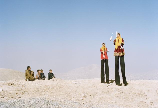 Like a Bird: Orta Doğu'da Sirk Hayatını Anlatan Sergi