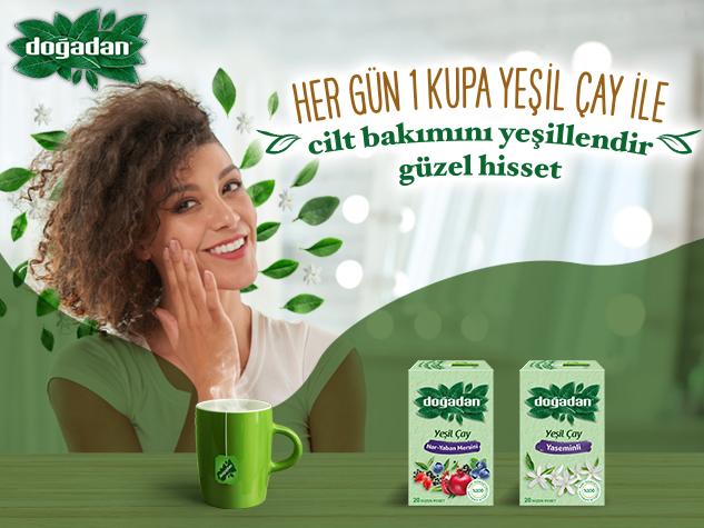 Doğadan Yeşil Çay