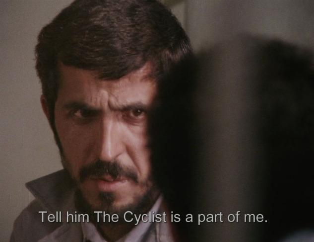 Bisikletçi, Makhmalbaf'in 1987 yapımı filmi