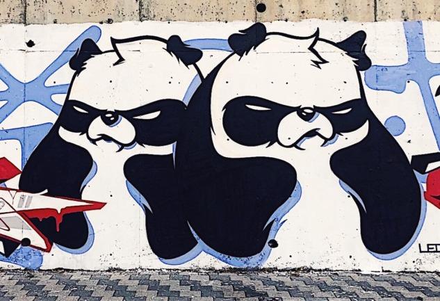 Sokak Sanatı ve Grafiti: Kilroy'dan Kızgın Panda'ya   Yolculuk