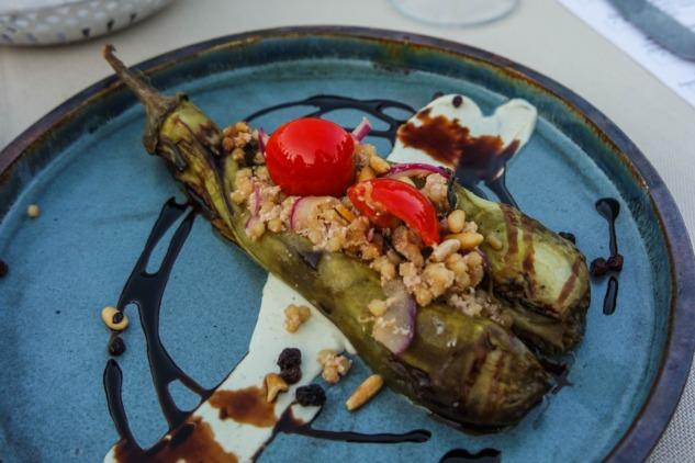 Lavantalı Patlıcanlı Kuskus