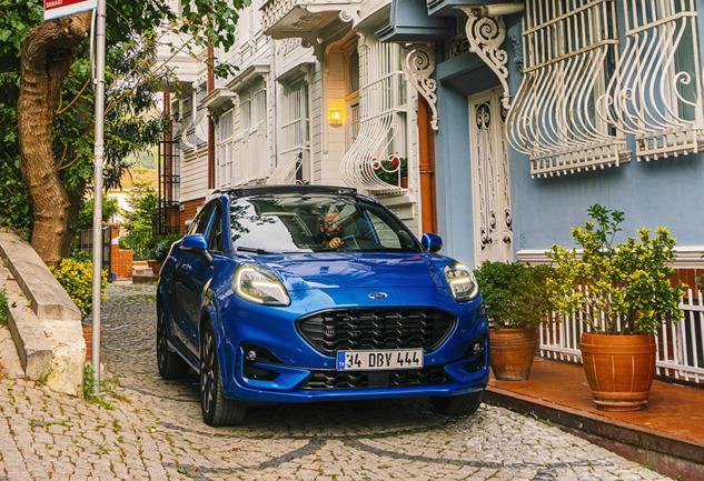 Ford Puma ile Kendini Göster: İçindeki Şehirli Kaşifi Yansıt!
