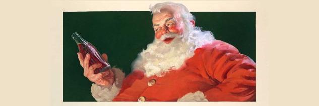 Haddon Sundblom'un Coca-Cola için Çizdiği Noel Baba