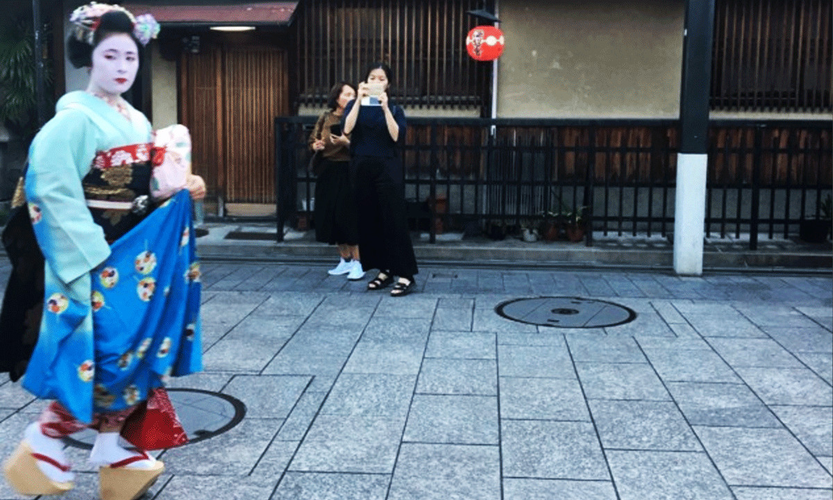 Gion'da bir Maiko