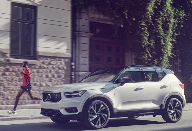 Şehirde Daha Güvenli Yollar: Volvo XC40 ile Mümkün