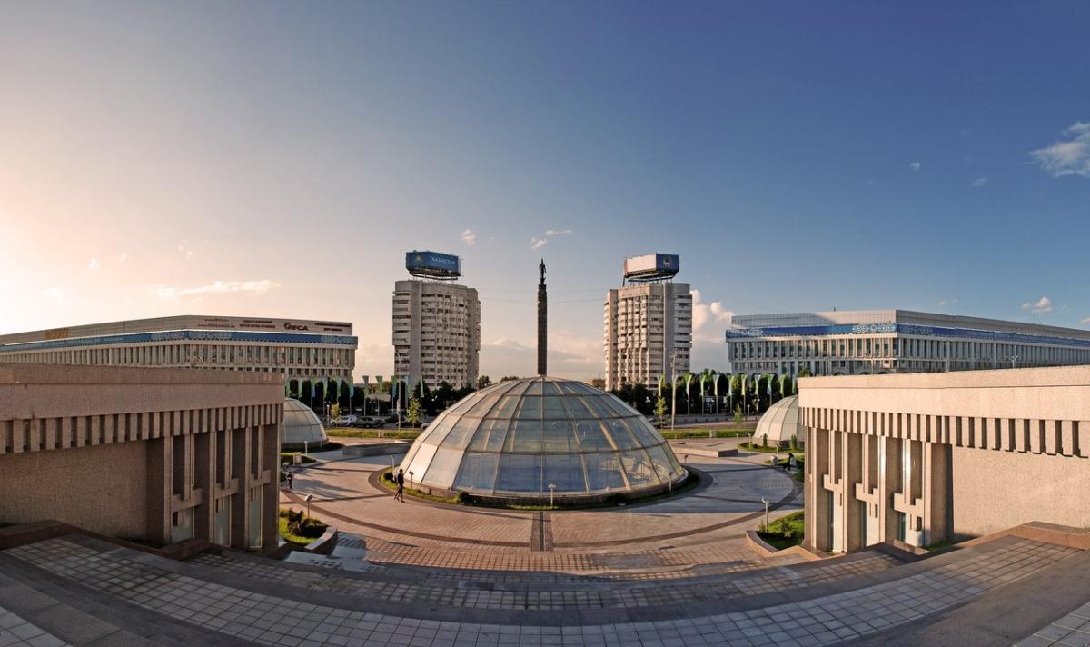 Almatı Cumhuriyet Meydanı