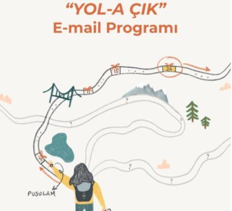 Yol-A Çık: Mail Üzerinden İlerleyen Bir Advent Calender