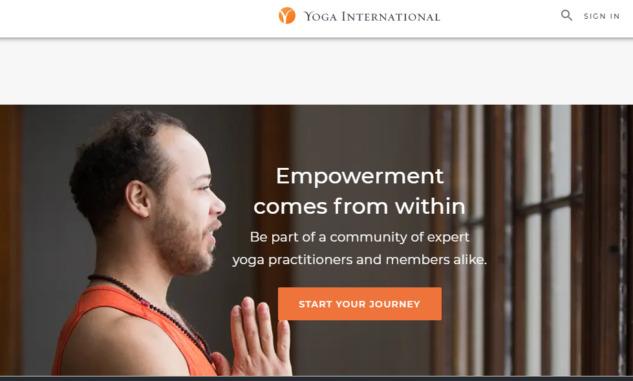 Online Yoga, Yogainternational
