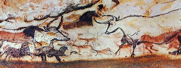 Fransa, Lascaux Mağarası, Boğalar Salonu