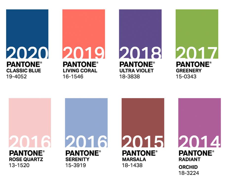 PANTONE Yılın Rengi