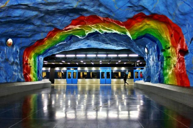 Stockholm İstasyonları, Stadion