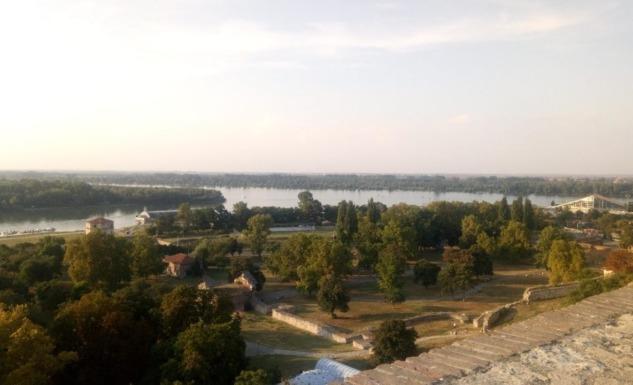 Kalemegdan'dan Tuna ve Sava Nehri