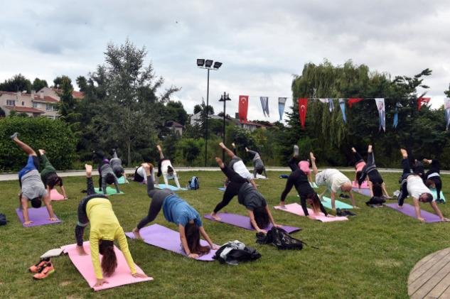 Yoga-Sanatçılar Parkı