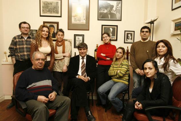 Hrant Dink ve Ekibi