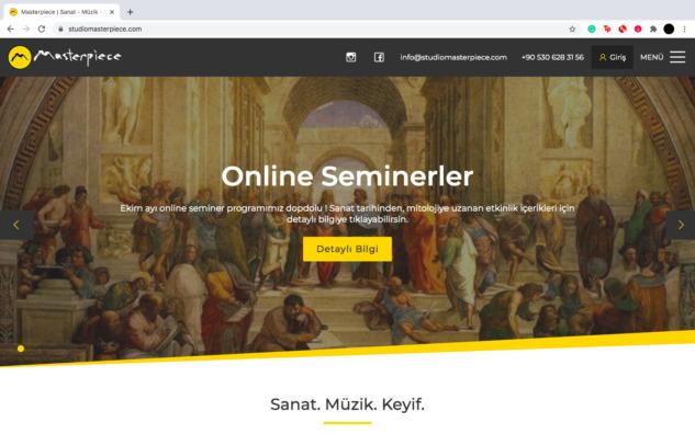 Online Eğitim: Studio Masterpiece Sanat Tarihi Dersi Deneyimi