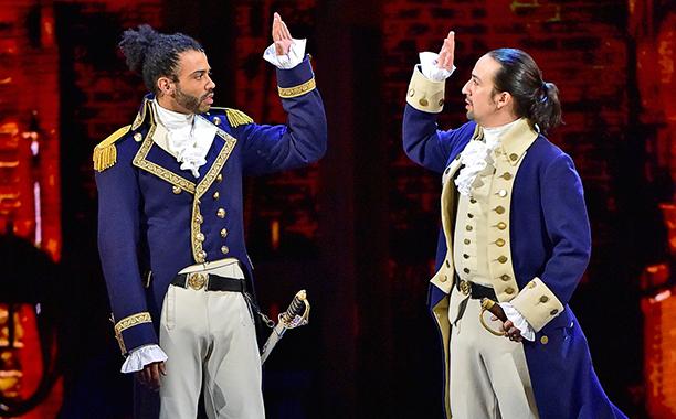 Hamilton ve Fransız Kankası Devrimci Kankası Lafayette