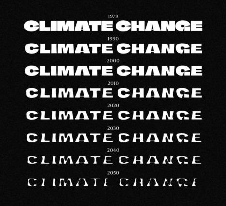 İklim Krizine Bağlı Olarak Şekillenen Font: Bir Farkındalık Projesi