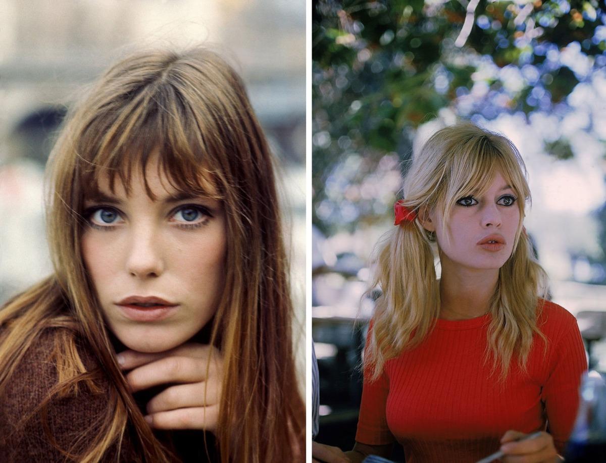 Jane Birkin ve Brigitte Bardot