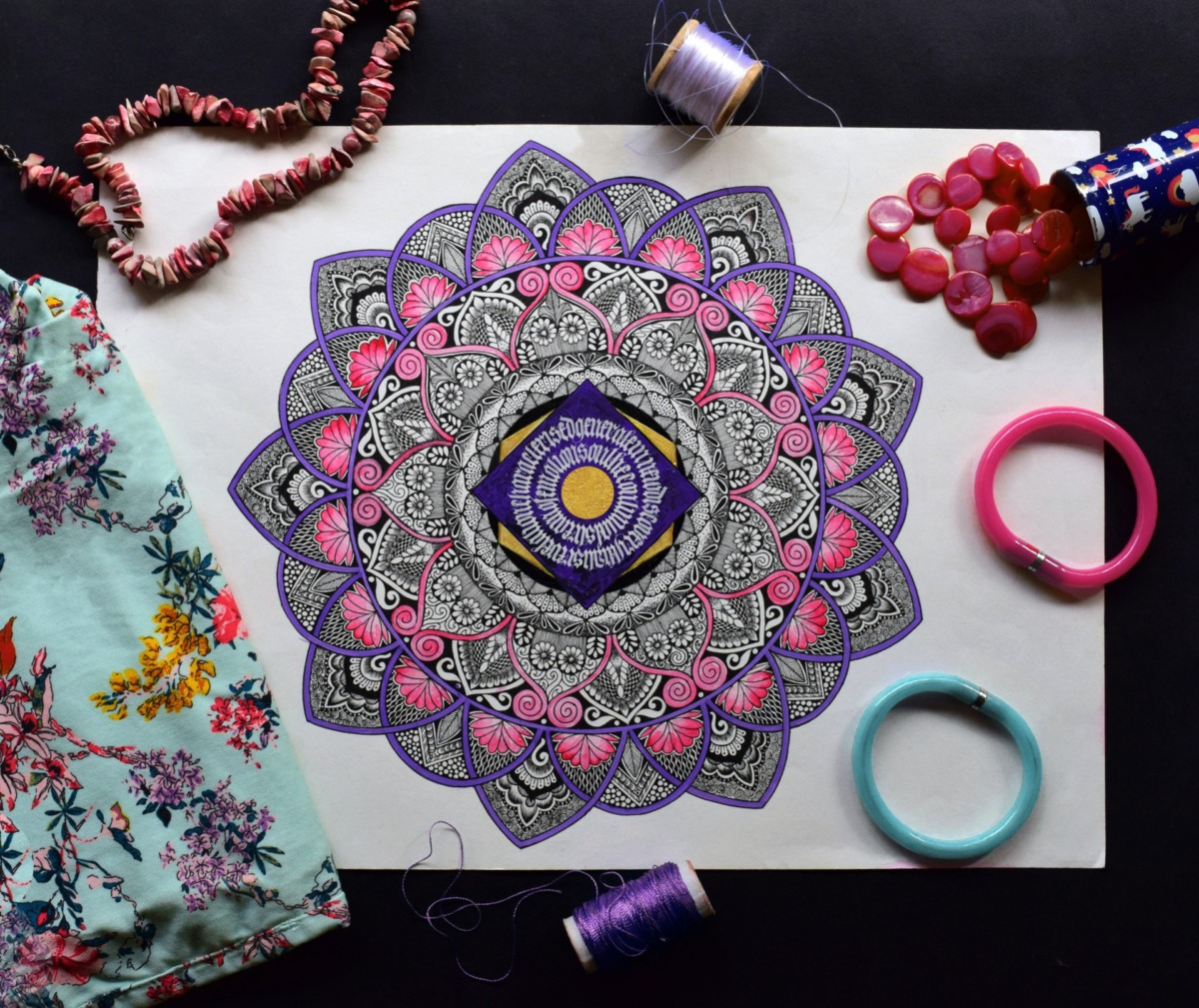 THINK House - Mandala Workshop: Çizim, Meditasyon ve Bilinçaltı Analizi