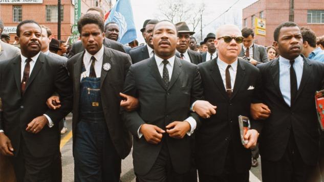 Martin Luther King Selma'da Özgurluge yürüyor